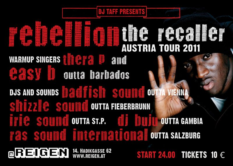Rebellion The Recaller - Sojah Straight - Party All Day