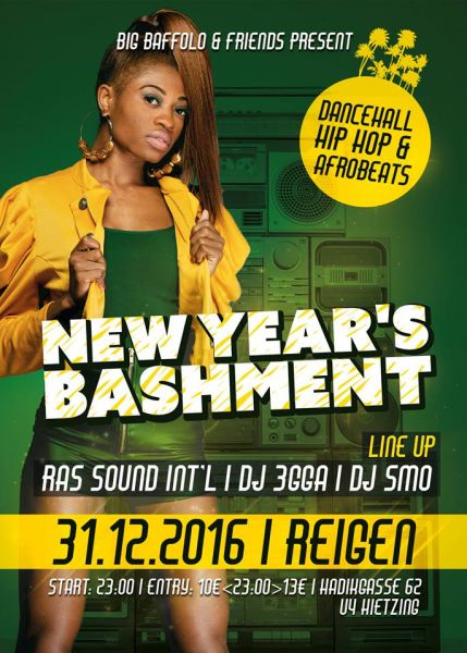 New Years Bashment- Dancehall, Hip Hop & Afrobeats proudly presented